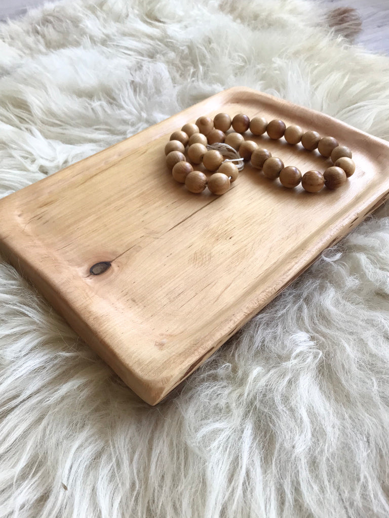 Wooden Tray #4