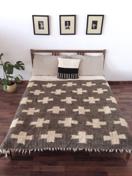 Swiss Cross Wool Blanket