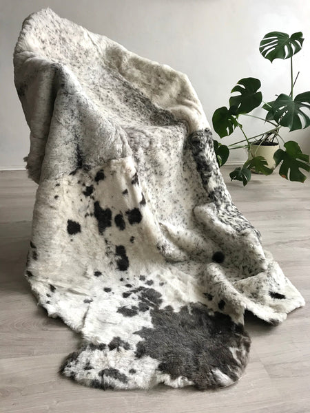 Sexto (6) Sheared Sheepskin Rug or Blanket