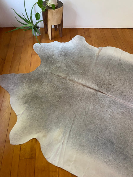 Natural Cowhide in Light Grey #1