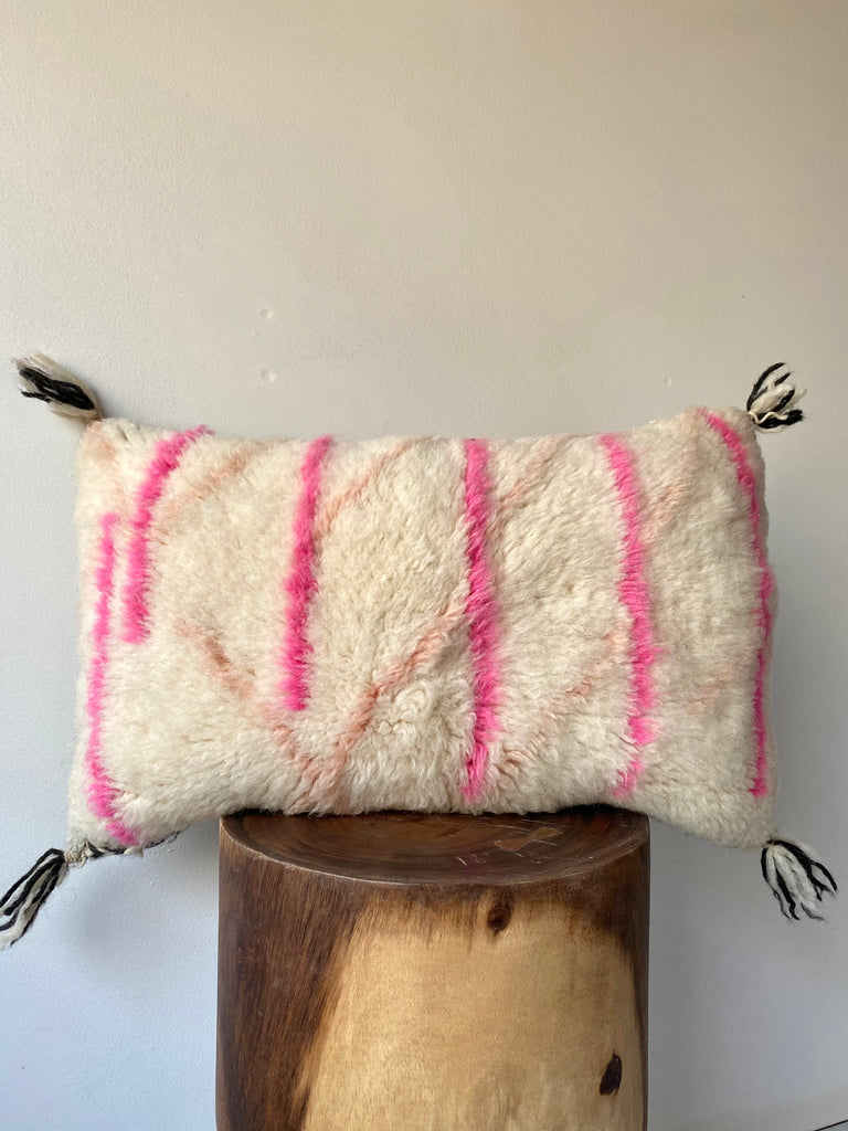 Beni Ourain Wool Pillow #8
