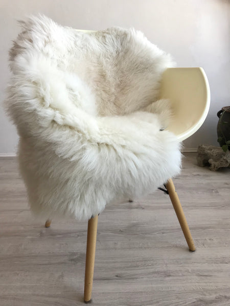 Classic Natural White Sheepskin