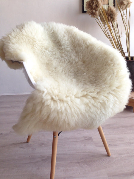 Very Plush Ivory Sheepskin