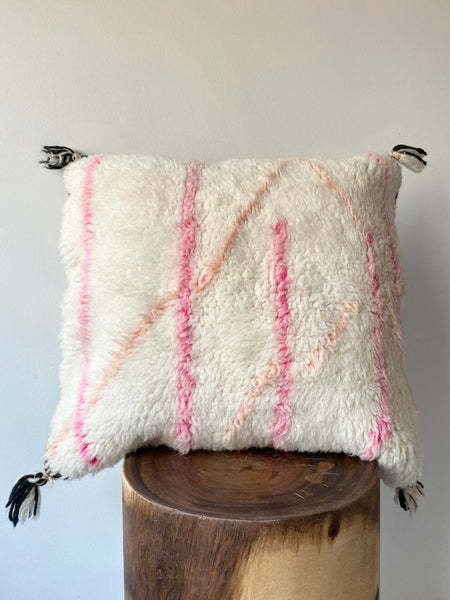 Beni Ourain Wool Pillow #5