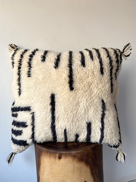Beni Ourain Wool Pillow #9