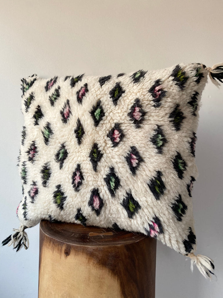 Beni Ourain Wool Pillow #10
