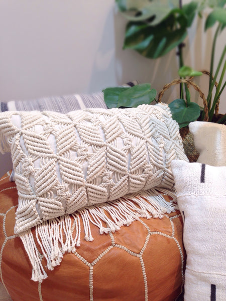 Macrame Pillow: 20