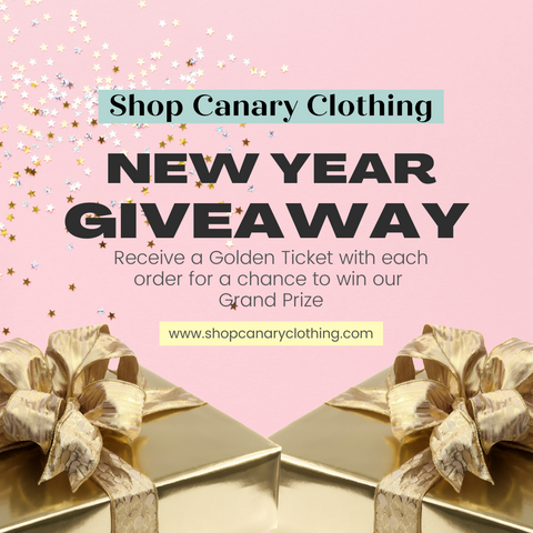 New Year Holiday Boutique Giveaway Shop Canary Clothing