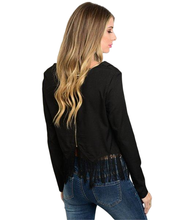 Frances Beaded Fringe Top Jazz inspired - Shop Canary Clothing
