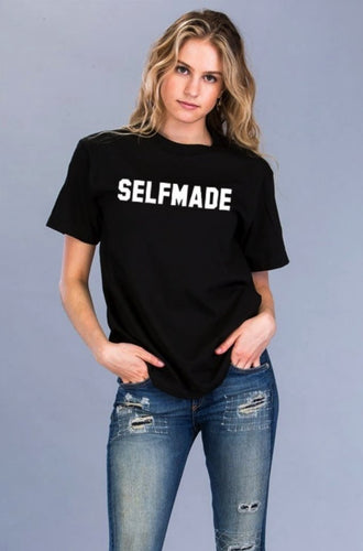 Selfmade T-Shirt - SHOP CANARY CLOTHING