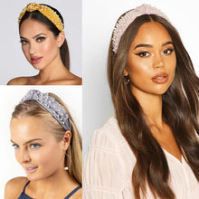Pearl Headbands Knotted Turban Headbands for Women - Shop Canary Clothing