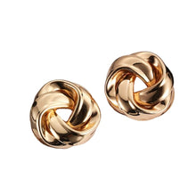 Vintage Style Metal Twisted Dangle Earrings For Women Charm Gold Color Statement Spiral Earrings Jewelry - Shop Canary Clothing