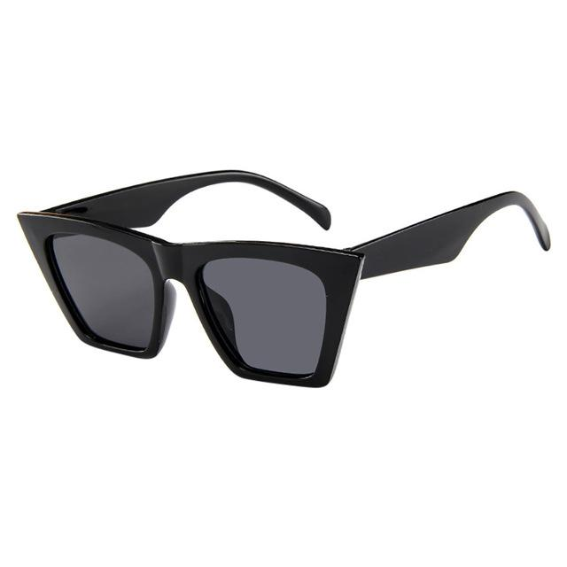 Hello Lover Oversized Square Cateye Sunglasses - Shop Canary Clothing