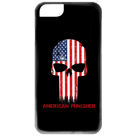 American Punisher Phone Case - Creative Military Apparel