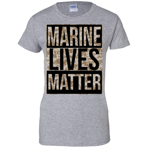 Apparel - Marine Lives Matter - Women's