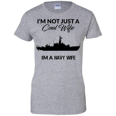 Apparel - Navy Wife