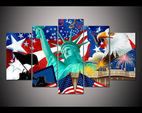 Canvas - Statue Of Liberty Wall Portrait
