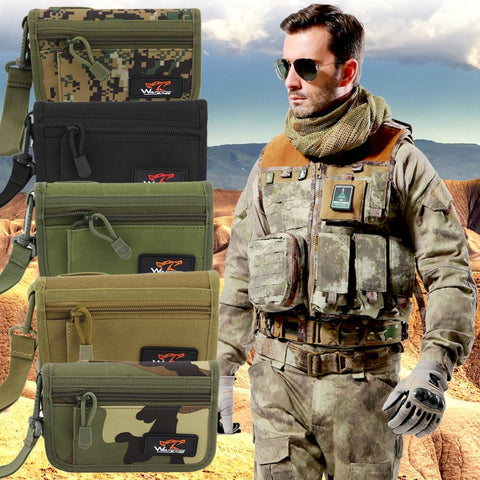 Multi Functional Military Waist Bag - Creative Military Apparel