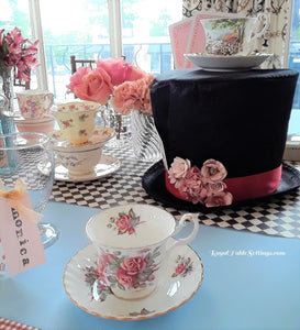 "An Elegant ""Alice in Wonderland"" Bridal Shower"