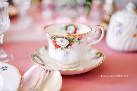 Royal Table Settings Tea Cup