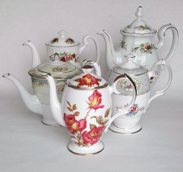 Vintage Coffee Pots by Royal Table Settings