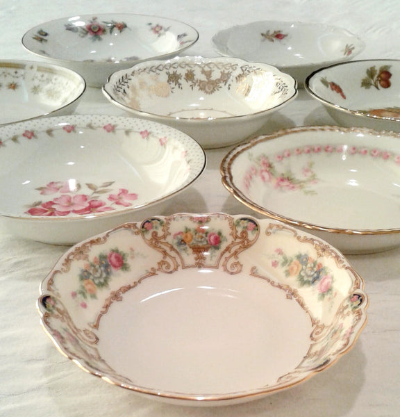 Vintage Fruit / Dessert Bowls by Royal Table Settings