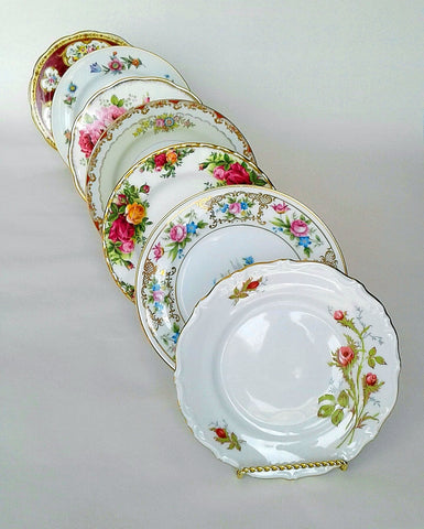 Vintage Bread & Butter Plates