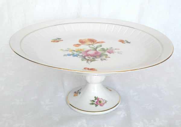 Large Porcelain Cake Stand