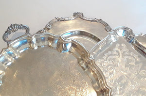 Medium Silver-Plated Trays