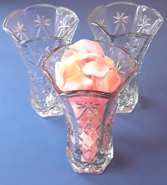 Medium Star Glass Vases