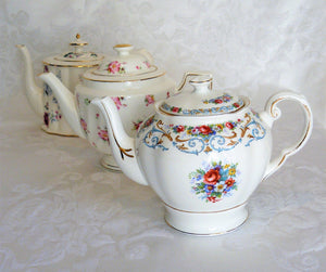 Vintage Teapots by Royal Table Settings