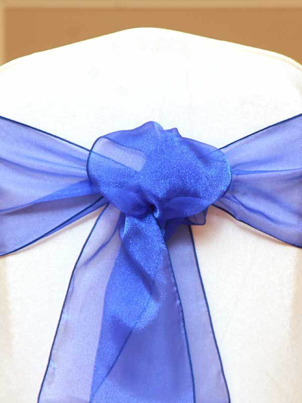 Royal ORGANZA SASHES for Rent