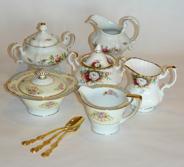 Large Creamer & Sugar Bowl Sets