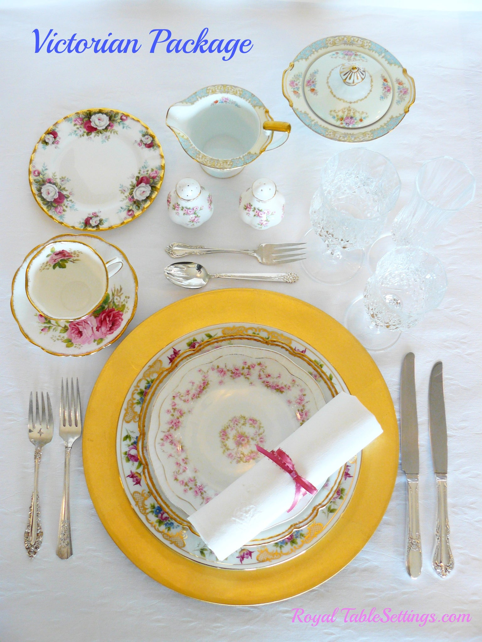 Victorian Package by Royal Table Settings