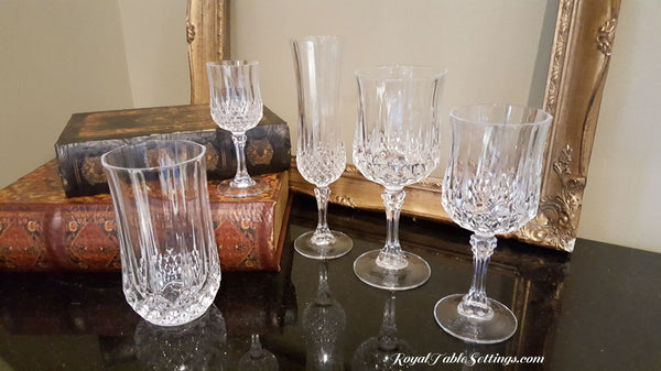 Crystal Glasses for rent