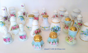 Porcelain Salt & Pepper Sets by Royal Table Settings