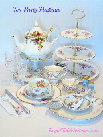 Tea Party Package by Royal Table Settings