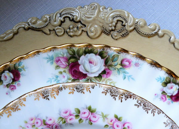 Victorian Charger Ivory Rental
