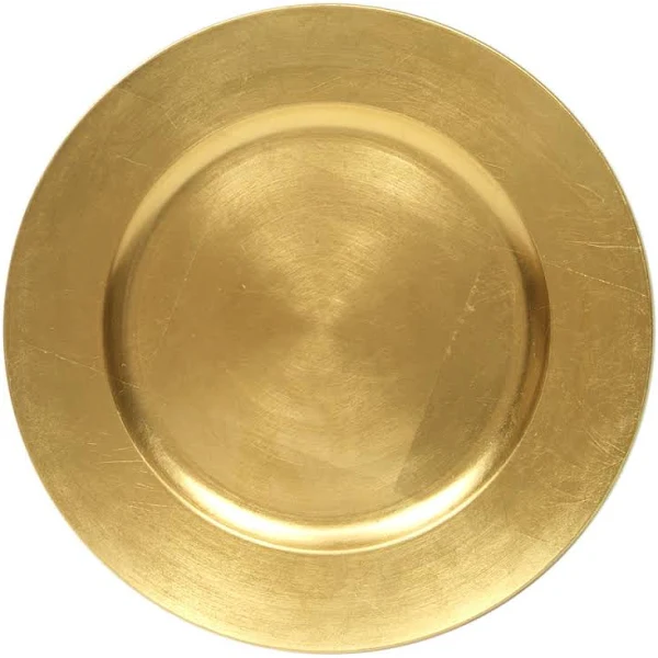 Gold Leaf Charger / Service Plate Rentals