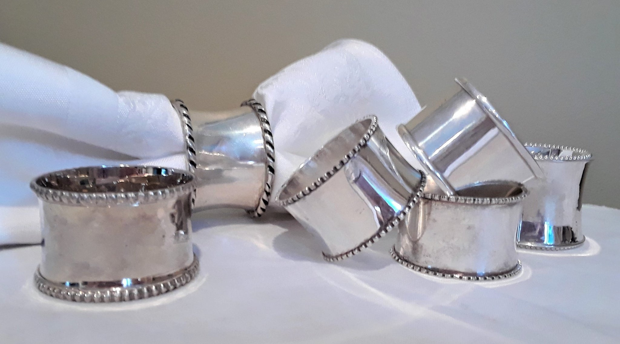 Silver Napkin Rings rent