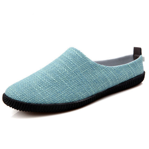 698e38fef Mens Comfortable Slip-On Canvas Shoes