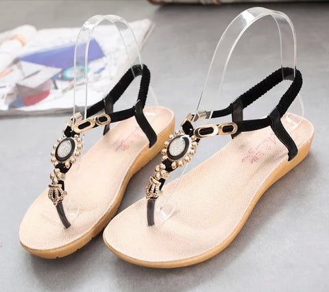 3fd68303bc4d Lovely Cute Jewel Casual Sandals