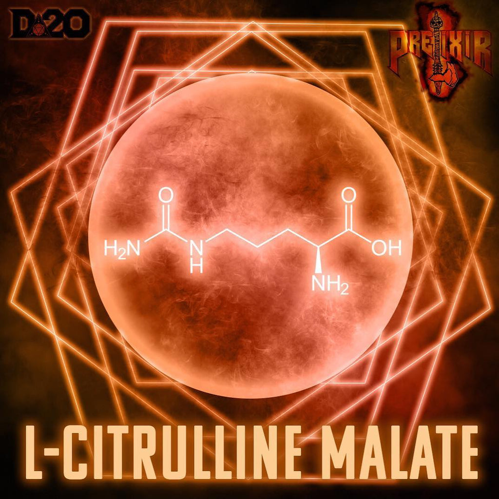 L-Citrulline Malate: THE BLOOD MUST FLOW