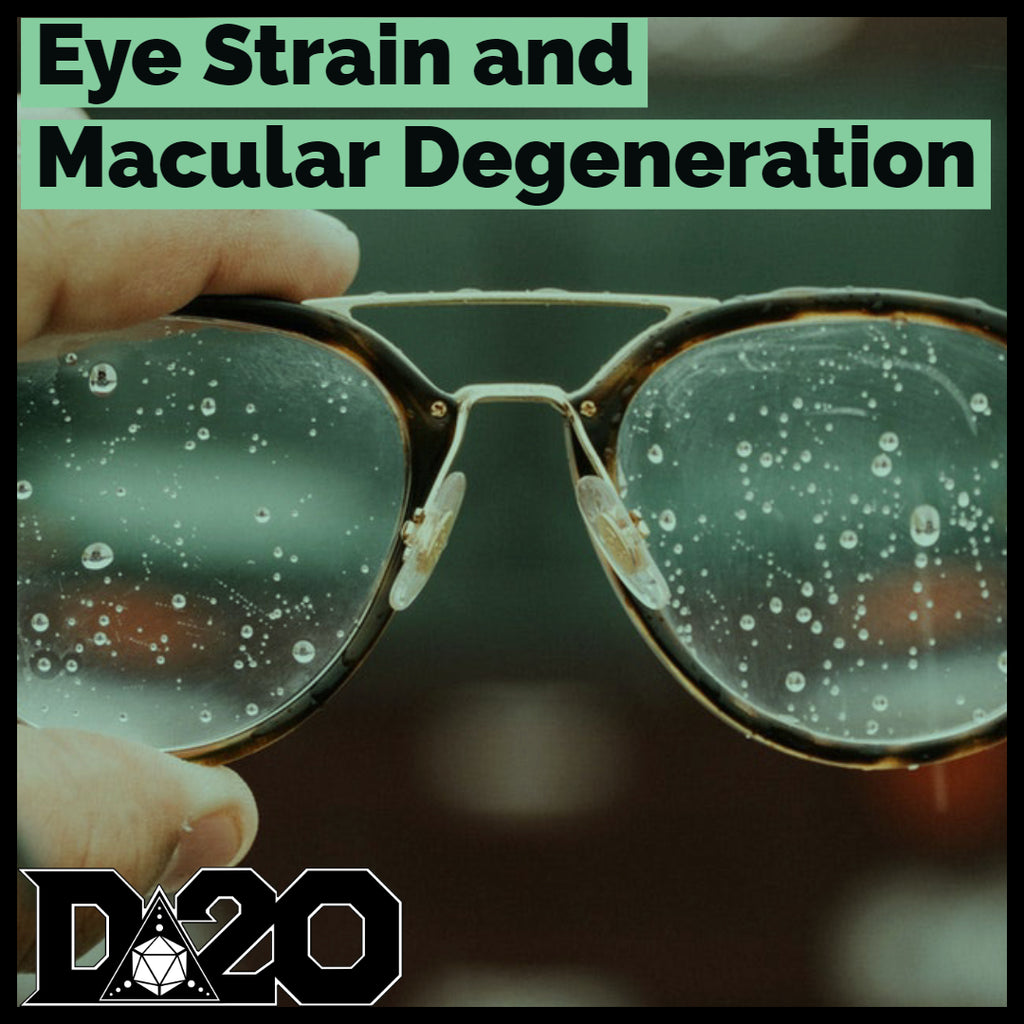 Muscles: Digital Eye Strain and Macular Degeneration