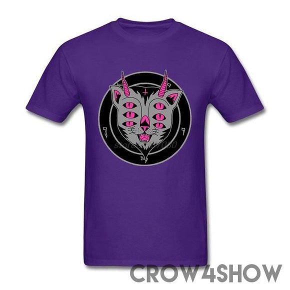 The Cat From Khemet Tee goth metal punk  juggalo shirt  - crow4show