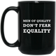 Men of Quality | Feminist Men | Rani Bee Mug - Feminist T Shirts & Apparel