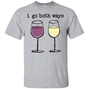 I Go Both Ways Wine Shirt | Feminist Apparel | Rani Bee - Feminist T Shirts & Apparel