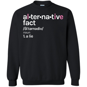 Alternative Fact LIE shirt | Feminist Tee Shirt | Rani Bee - Feminist T Shirts & Apparel