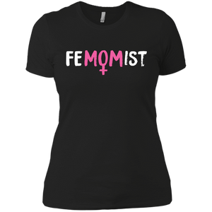 FeMOMist | Feminist Mom Shirts | Women's Shirt | Rani Bee - Feminist T Shirts & Apparel