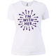 I'm With Her Shirt | Feminist Apparel | Women Shirts | Rani Bee - Feminist T Shirts & Apparel